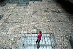 China, Beijing, urbanism museum, city model
