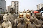China, Beijing, Panjiayuan market, antiques