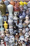 China, Beijing, Panjiayuan market, ceramic pieces