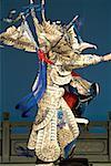 China, Beijing, traditional dance show, dancers