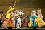 China, Beijing, traditional dance show