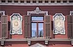 Slovenia, Maribor, baroque architectural detail