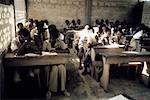 Togo, Aného, school children