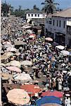 Togo, Lomé, near the great market
