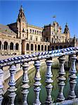 Plaza de l'Andalousie, Séville, Espagne de Espana