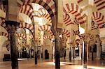 Spain, Andalusia, Cordoba, Great mosque interior
