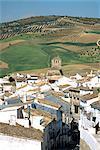 Espagne, Andalousie, Alhama de Granada, village blanc