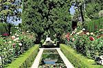 Spain, Andalusia, Granada, the Alhambra, Generalife gardens