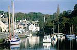 France, Brittany, Pont-Aven, port