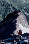 Escalade Ortler, Parc National Stilfserjoch, Alpes d'Italie