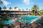 Motel Swimming Pool, Florida, USA