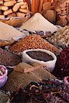Nuts and Spices at Market, Ocotlan de Morelos, Oaxaca, Mexico