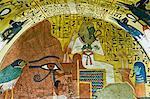 Osiris, Tomb of Pashedu, Deir Al-Medina, West Bank, Luxor, Egypt