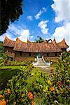 Traditional Minangkabua House, Pandai Sikat, Sumatra, Indonesia