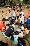 Fishermen Sorting Fish, Bungus Bay, Sumatra, Indonesia