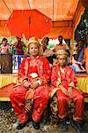 Groom and Best Man, Pasar Kambang, Sumatra, Indonesia