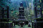 Okunoin Graveyard, Koyasan, Kansai, Honshu, Japan