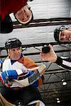 Mise au jeu de hockey
