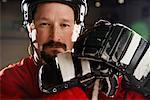 Portrait of Hockey Player