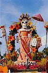 Rose Bowl Parade Float, Pasadena, California, USA