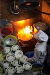 Stand de nourriture, Hanoi, Vietnam