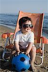 Little Boy on the Beach, Tor San Lorenzo, Ardea, Lazio, Italy