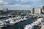 Boats in Marina, Fort Lauderdale, Florida, USA