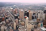 Aerial View of Calgary, Alberta, Canada