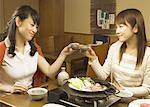 Women Toasting