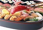 Cataring assortiment sushi