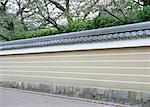 Clôture de style traditionnel japonais