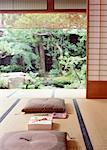 Image de boîte de cadeau de style japonais