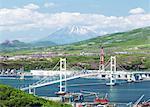 Hakucho Bridge and Mount Yotei