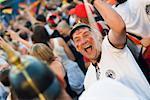 Deutsche Fußball-Fans, Fußball-Spiel, Euro 2008, Salzburg, Österreich