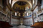 Cathedra, Basilica of St John Lateran, Rome, Latium, Italy