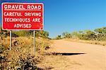 Road Sign, Duncan Road, Northern Territory, Australia