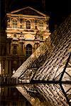 Pyramide de pognon, Musée du Louvre, Paris, France