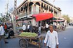 People in Marketplace, Kashgar, Xinjiang Province, China