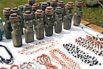 Souvenirs at Ranu Raraku, Easter Island, Chile