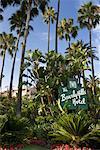 L'hôtel de Beverly Hills, Los Angeles, Californie, USA