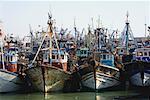Boats in Port, Essaouira, Morocco