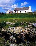 Cottage on Achill Island, County Mayo, Republic Of Ireland