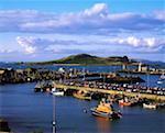 Oeil de l'Irlande, de Howth Harbour Co Dublin, Irlande