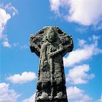 Doorty Cross, Kilfenora, Co Clare, Irlande, XIIe siècle High Cross