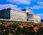 Assemblée de Stormont, à Belfast, en Irlande, Irlande du Nord
