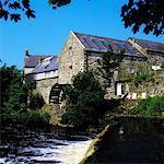 Waterwheel, Bushmills, Co Antrim, Ireland