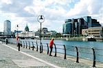 Sir John Rogerson's Quay, River Liffey, Dublin, Ireland