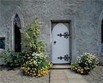 Tür zum Museum, Lodge Park, Straffan, Co Kidare, Irland