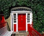 Georgische Tür, Westport, Co. Mayo, Irland