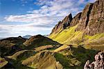 Cliffs, Isle of Skye, Scotland